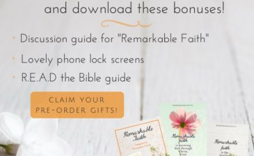 Sneak Peek: Finding Faith + a Bonus for You!