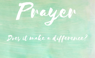 Prayer: What difference does it make?