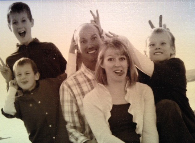 silly family picture