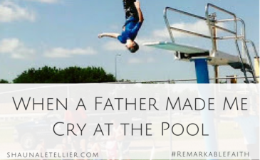 When a Father Made Me Cry at the Pool