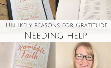 Unlikely Reasons for Gratitude: Needing Help